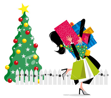Christmas Shopping Early makes life easier.
