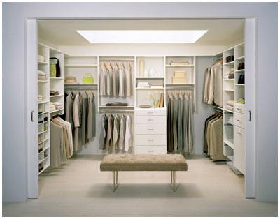 Elegant Walk In Closet ...