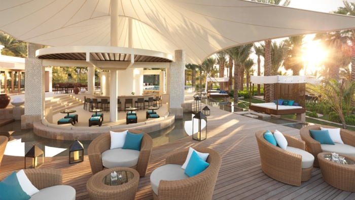 The utterly gorgeous new La Baie Lounge at The Ritz-Carlton, Dubai