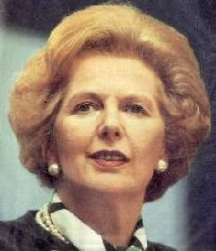 Baroness Thatcher: The ultimate Housewife.