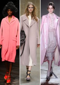 Might I have gone for the fashion-victim pink-coat thing this season? It's hard to say when I haven't bought a coat in 15 years
