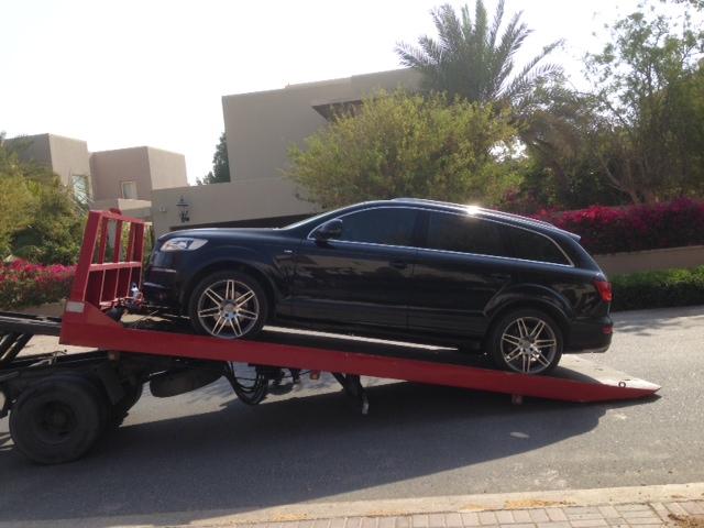 Farewell, dear car. Get well soon.