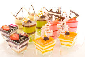 """And the canapes had white chocolate sails in the shape of the Burj Al Arab"